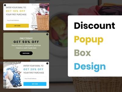 Discount Popup Box Designs