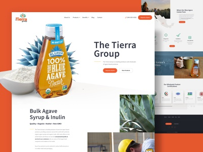 Agave Website nectar web design ui website web agriculture farming farm sugar sweetener bottle product minneapolis minnesota mn syrup tequila agave