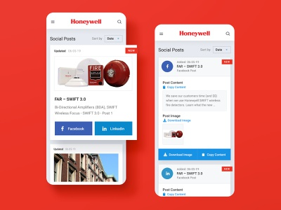 Honeywell Website Mobile shop store emergency ecommerce protection firefighter flame minneapolis minnesota mn ui web design website product safety alarm fire mobile honeywell