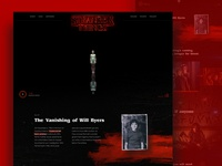 Stranger Things Website