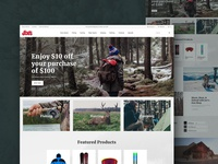 Sporting Goods Website