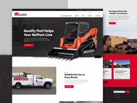 Quality Forklift Website