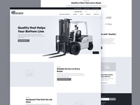 Quality Forklift Wireframe
