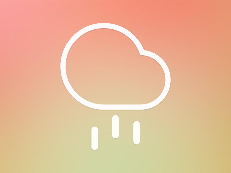Weatherr icon weatherr app icon design