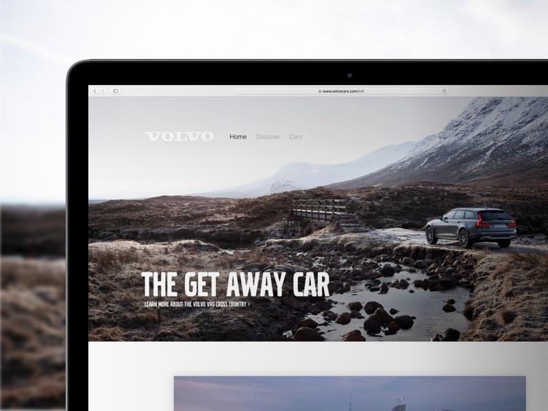 Volvo Cars website redesign sweden site web redesign lifestyle manufacturer cars volvo