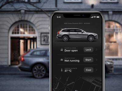 Volvo On Call redesign