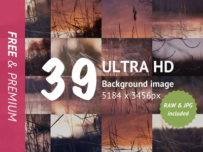 Nature Backgrounds pack for UI texture raw premium photography nature freebie free download blur backgrounds ui header