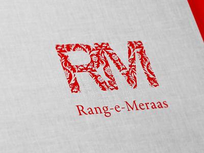 Rang-e-Meraas Logo Design illustration vector branding logo graphic design