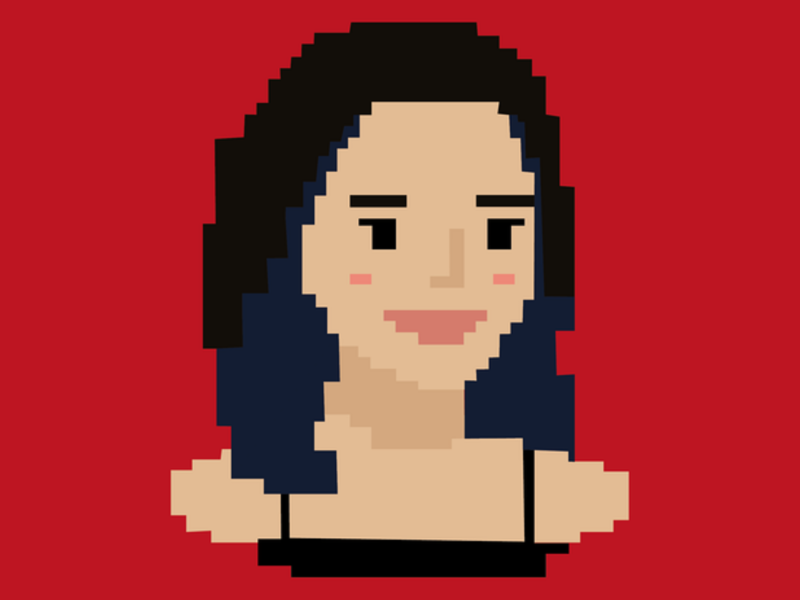 Pixel Portrait design chracter illustraion self portrait pixelart pixel