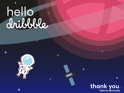 Dribbble space
