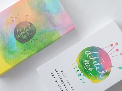 Business cards by green peas for breakfast dribbble for Green card through business
