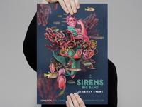 Sirens Big Band gig poster