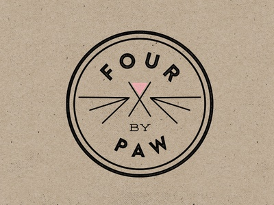 Four By Paw logo option two