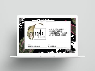 Popla website