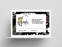 Popla website