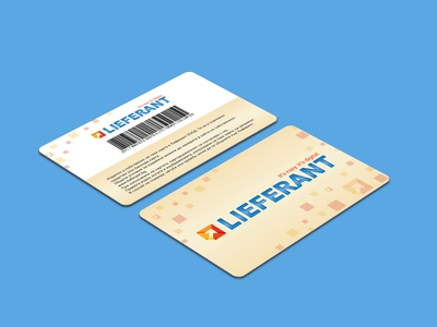 Lieferant Loyalty Card