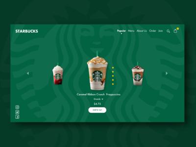 Starbucks Website Revision