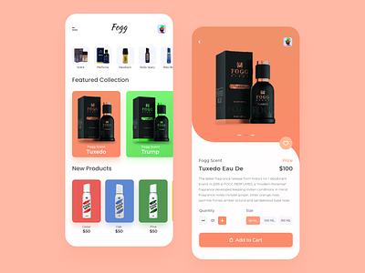 Fogg Product app ui concept design uxuidesign uiux product design pattern product page productdesign frontend branding adobexd uikit uidesign webdesign uxdesign