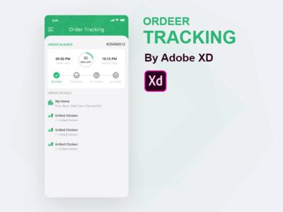 Food Delivery App Track Order