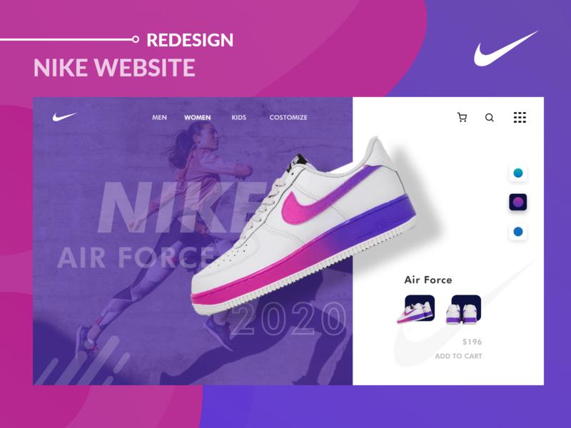 Nike-Concept Website