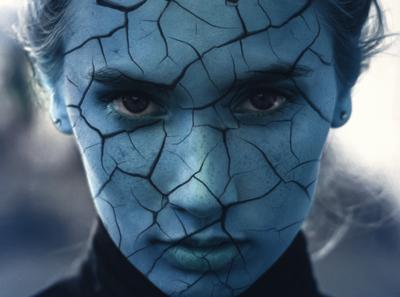 Cracked Skin Effect