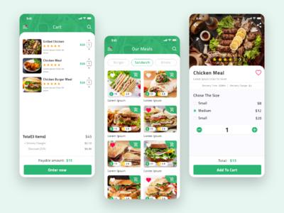 Food App - zadlab