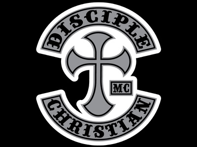 Disciple Christian Motorcycle Club Sticker sticker club motorcycle christian disciple