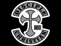 Disciple Christian Motorcycle Club Sticker