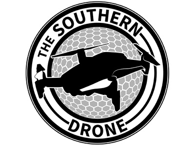 The Southern Drone southern drone logo design