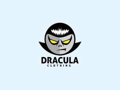 Dracula Logo Template logo logo template devil angry red character mascot face dracula