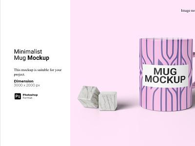 Minimalist Mug Mockup 3d