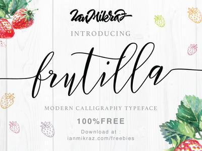 Frutilla Script Free Typeface