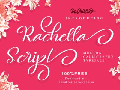 Rachella Script Free Typeface