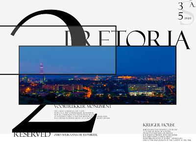 PRETORIA typography website website design web design web ui design ui design branding affinity