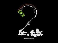 MyTeksi/ GrabTaxi 2nd Anniversary T-Shirt Design