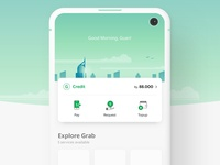Grab New Home Screen Exploration