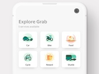 Grab Services Icon Exploration