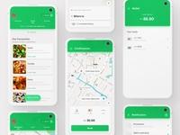 UI Exploration for Grab App