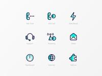Telco App Icon Exploration