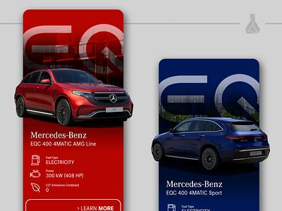 Mercedes-Benz EQC Mobile Concept concept mobile
