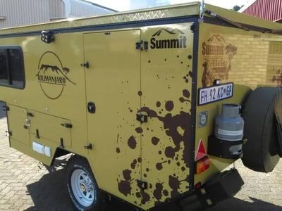 Summit Caravan Branding