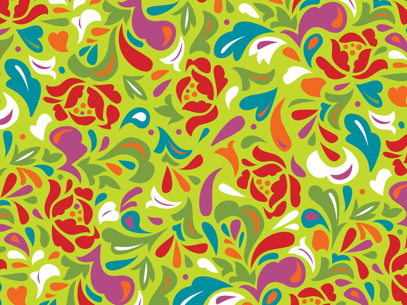 Floral Pattern repeat pattern pattern floral pattern floral flat illustration design