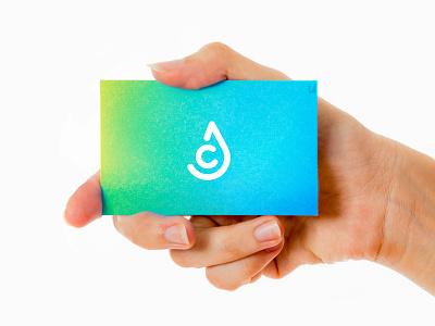 AWE Connect Logo gradient design logo