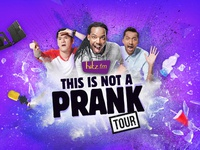 hitz fm This is not a Prank Tour