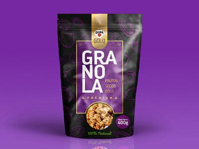 Gloria Granola Packaging gloria peru granola food graphic design design