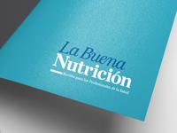 """""""La Buena Nutrición"""" Magazine logotype"""