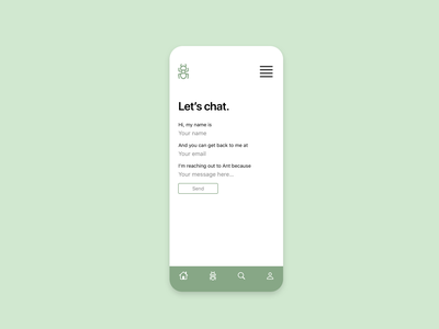 Daily UI 28: Contact Us contact form dailyui028 ux design dailyui