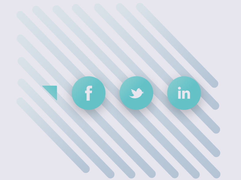 Social Share Icons icons socialshare dailyui