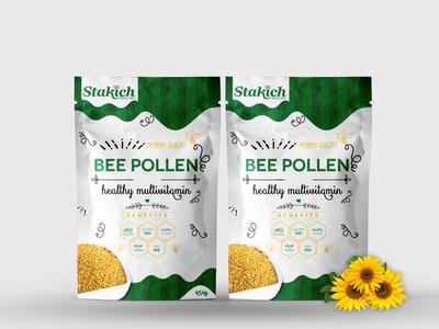 bee pollen packaging