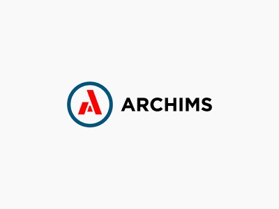 ARCHIMS construction logo construction archims